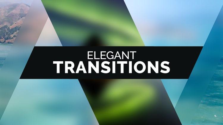 50 Elegant Transitions: Premiere Pro Templates
