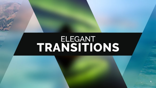 50 Elegant Transitions: Premiere Pro Templates