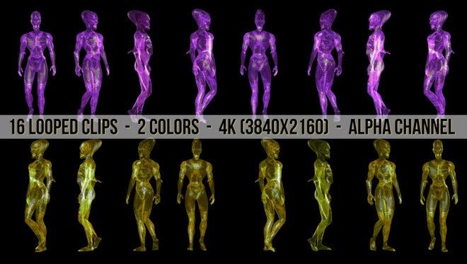 Alien Pack: Stock Motion Graphics
