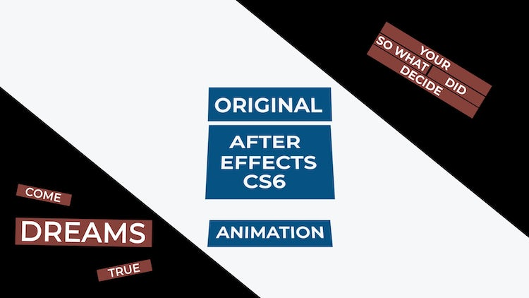 Unique And Kinetic Typography: After Effects Templates
