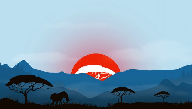 African Logo: After Effects Templates