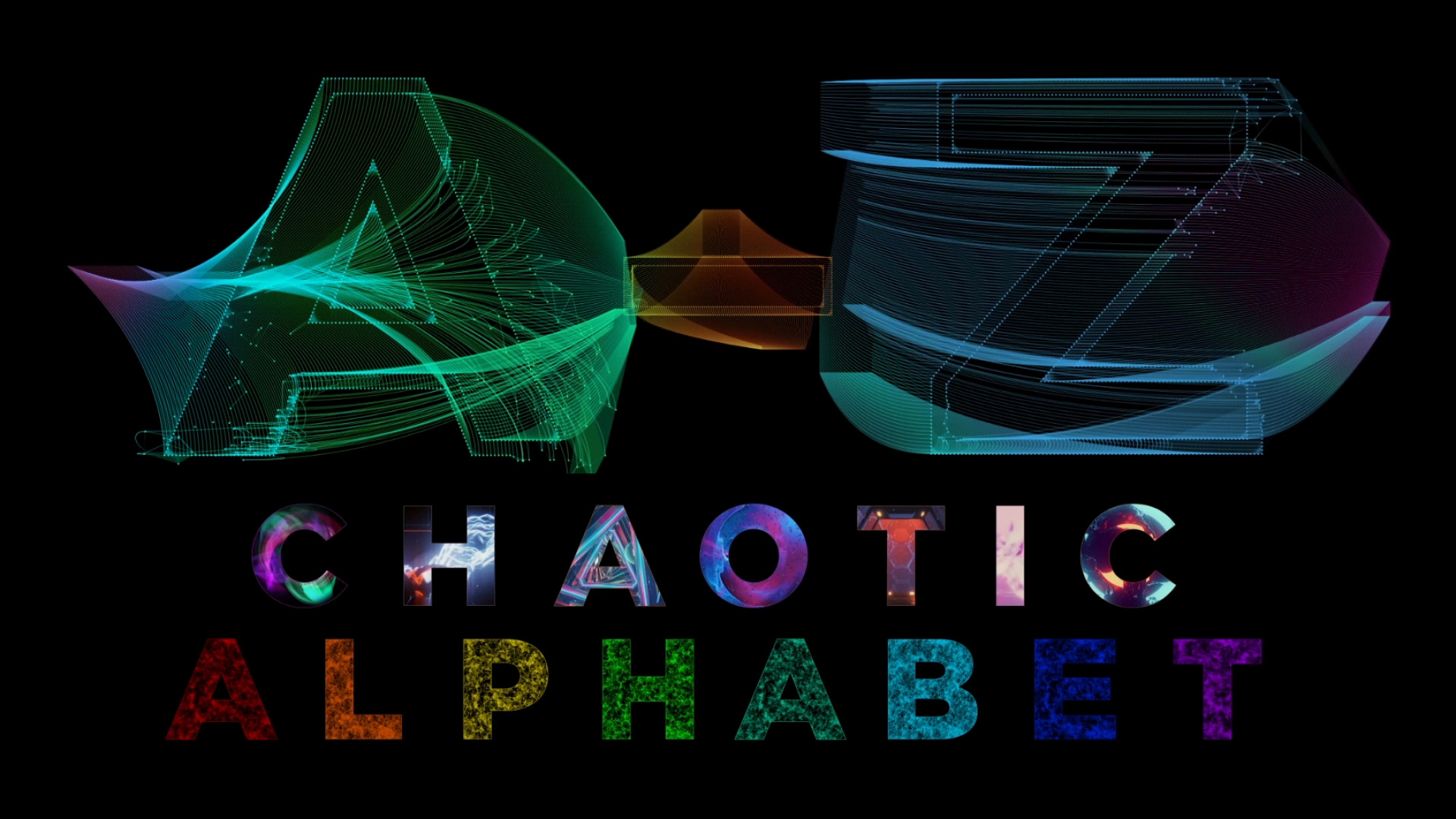 Animated Alphabet Chaotic Style Part 1 87706