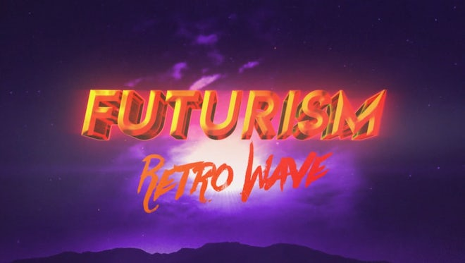 Retro Futurism Intro: After Effects Templates