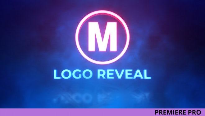 Neon Logo Reveal: Premiere Pro Templates