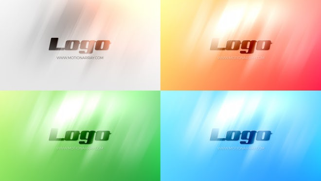 Clean Bright Logo: After Effects Templates