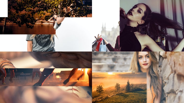 Fresh Slideshow: After Effects Templates
