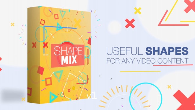 Shape Mix: Motion Graphics Templates