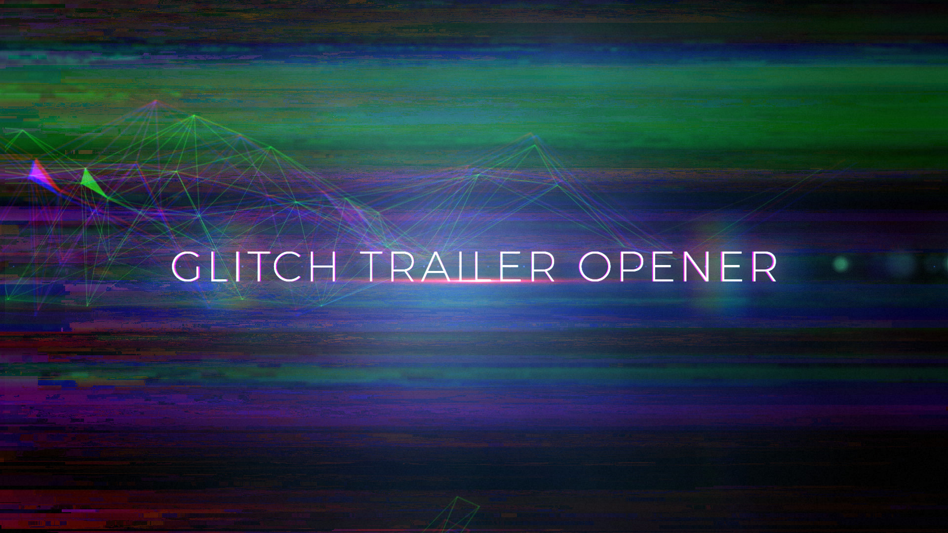 Glitch Trailer Opener - After Effects 88849