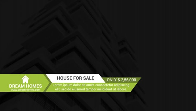 Real Estate Titles: After Effects Templates