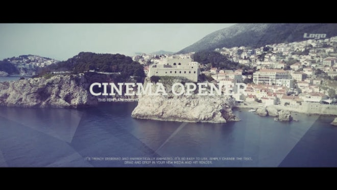 Style Cinematic Opener: Premiere Pro Templates