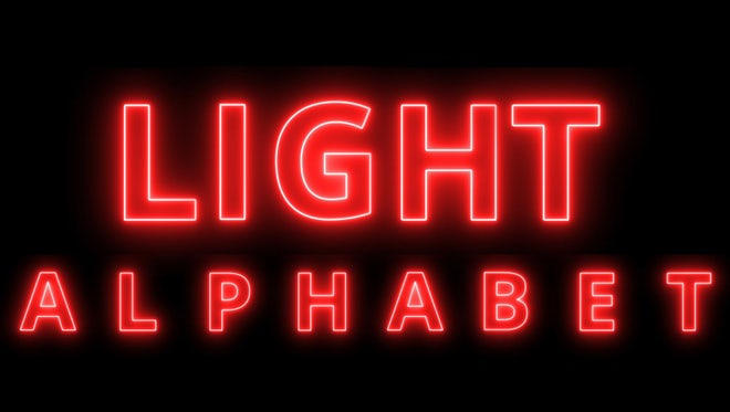 Red  Light Alphabet Pack: Stock Motion Graphics