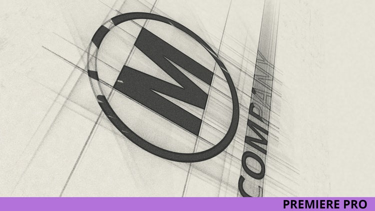 Sketch Logo Reveal: Premiere Pro Templates