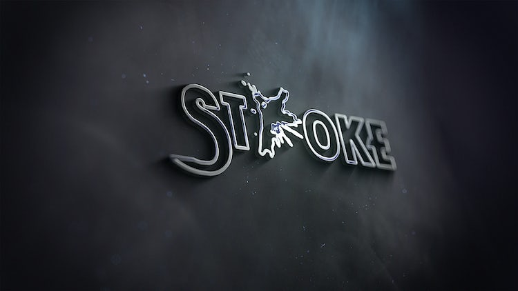 Stroke Logo: After Effects Templates