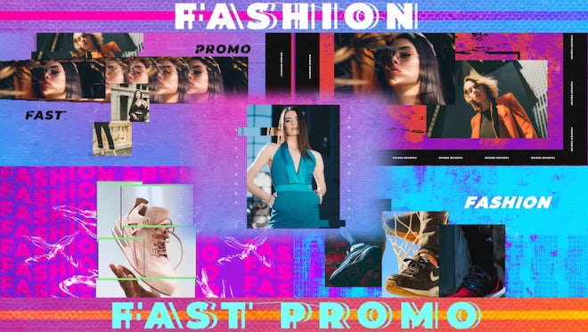 Fast Fashion Promo: After Effects Templates
