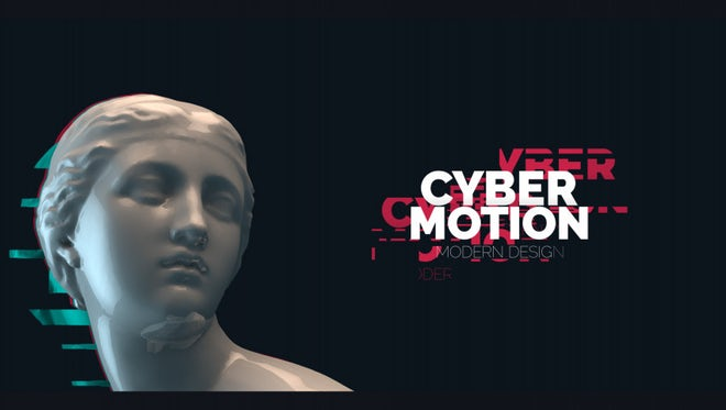 50 Glitch Titles: After Effects Templates