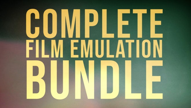 Complete Film Emulation Bundle: Premiere Pro Presets