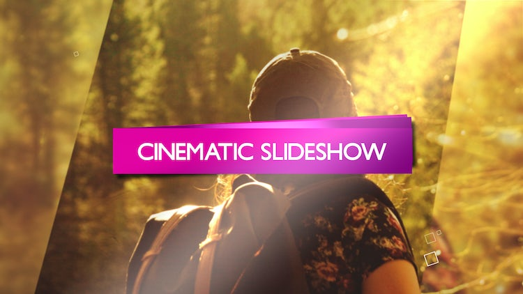 Slideshow Cinematic Opener: After Effects Templates