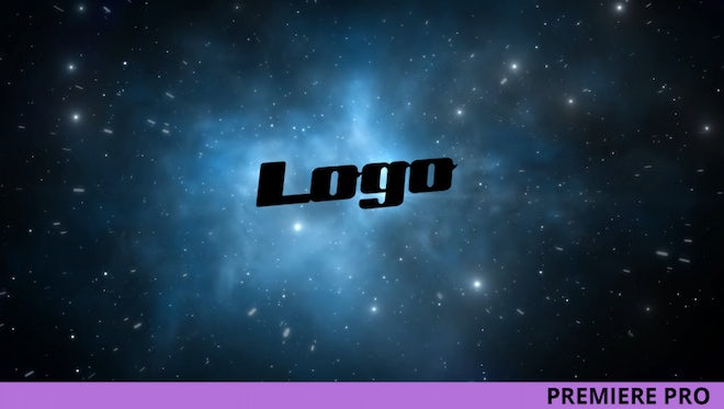 Space Logo Reveal: Premiere Pro Templates