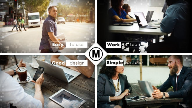 Simple Portfolio: After Effects Templates
