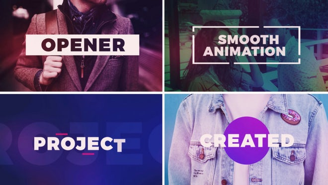 Quick Fashion Promo: After Effects Templates