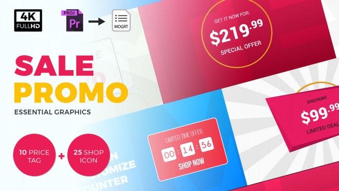 Sale Promo: Motion Graphics Templates
