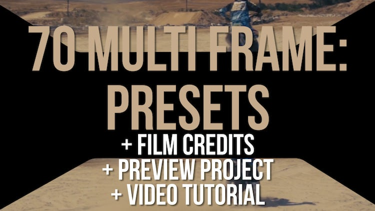Multiframe Presets #2: Circle & Hexagon: Premiere Pro Presets