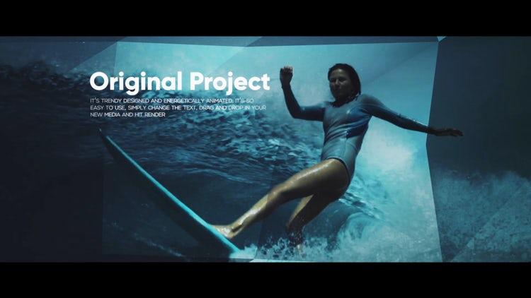 Cinema Refraction Opener: Premiere Pro Templates