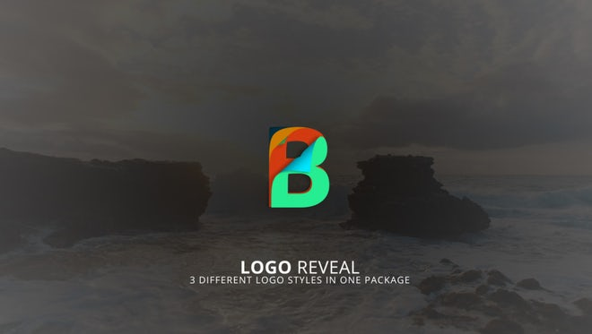 Minimal Logo Reveal Page Turn: After Effects Templates