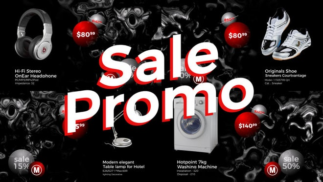 Sale Promo: After Effects Templates