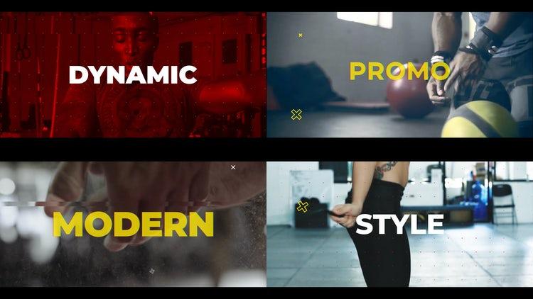 Dynamic Promo: Premiere Pro Templates