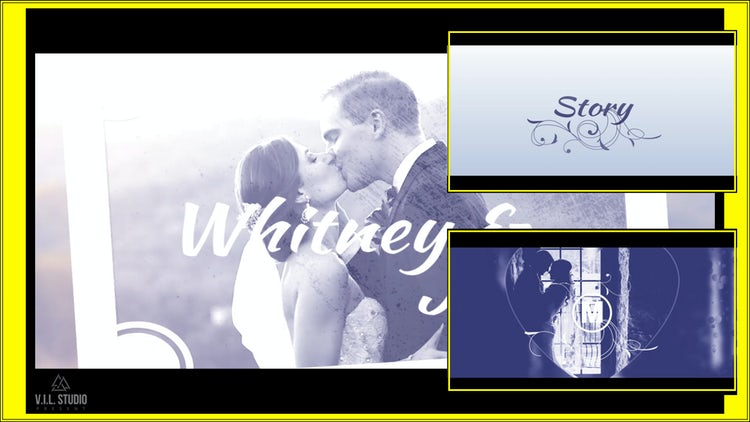 Wedding Titles Slideshow: Premiere Pro Templates
