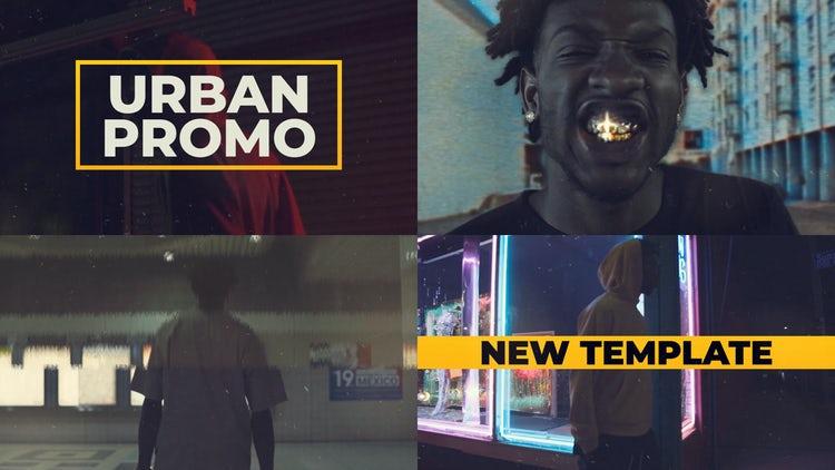 Hip Hop Urban Promo: Premiere Pro Templates