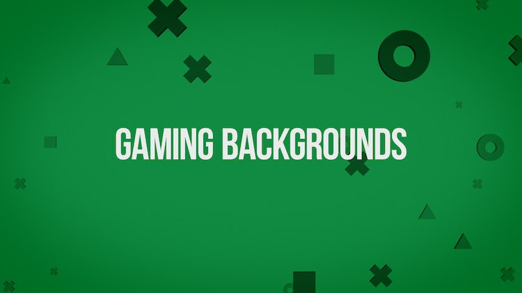 Gaming Backgrounds Pack: Stock Motion Graphics