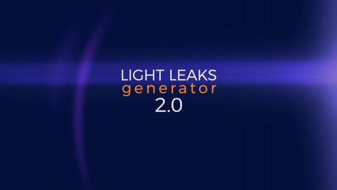 Light Leaks Generator 2.0: Premiere Pro Presets
