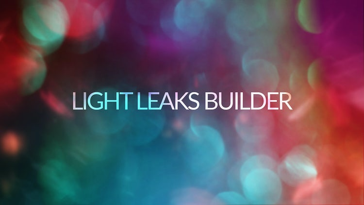 Light Leaks Builder: Motion Graphics Templates