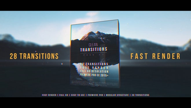 Clean Transitions Pack v1 - Premiere Pro Templates | Motion Array