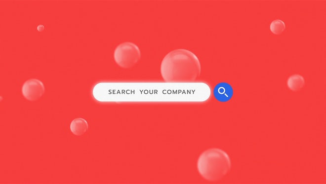 Search Logo Reveal: After Effects Templates