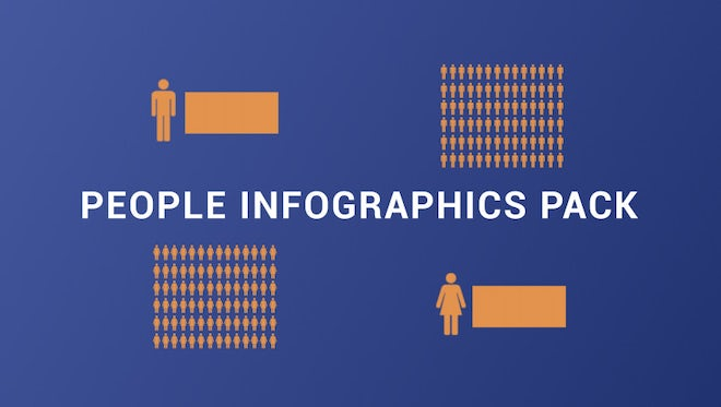 People Infographics Pack: Stock Motion Graphics