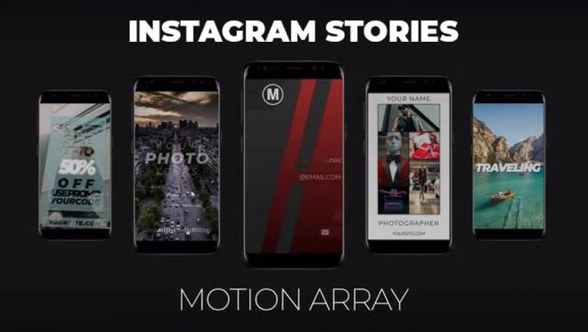 Instagram Stories Pack (Vol. 1): After Effects Templates