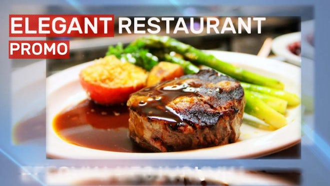 Elegant Restaurant Promo: After Effects Templates