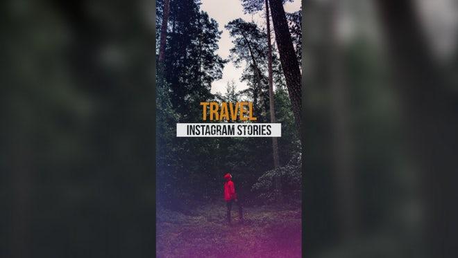 Travel Instagram Stories: Premiere Pro Templates