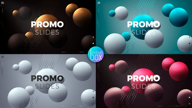 Spheres Product Promo 4K: After Effects Templates