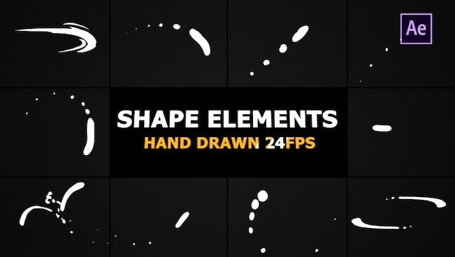 Shape Elements Pack: After Effects Templates