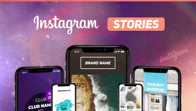12 Instagram Stories: After Effects Templates