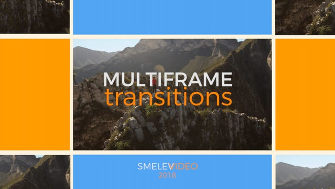Multiframe Transitions: Premiere Pro Templates