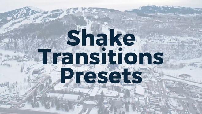 Shake Presets: Premiere Pro Presets