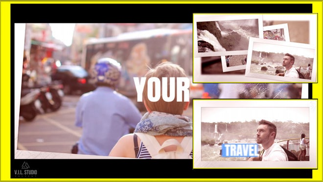 Travel Event: Premiere Pro Templates