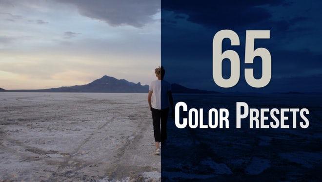 65 Color Presets: Premiere Pro Presets