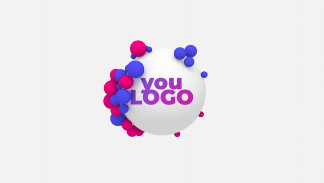 Stylish Ball Logo: After Effects Templates