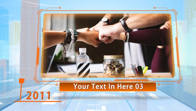 Tech City Corporate Timeline Slideshow: After Effects Templates